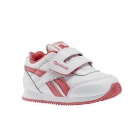 Zapatillas Reebok Royal Classic Jogger 2 Kc blanco rosa bebe