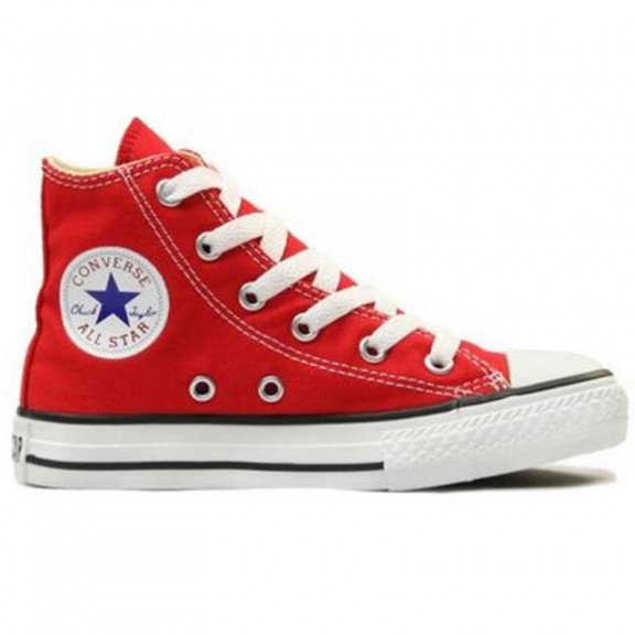 converse all star niño rojo