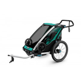 Carrito Thule Chariot Lite 1 + Kit Bici Azul V17