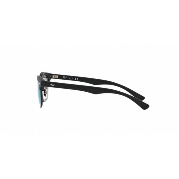 Ray-Ban Rj9050S 100S3R 45 Junior Negra Espejo Verde Gafas De ... d0a0572841