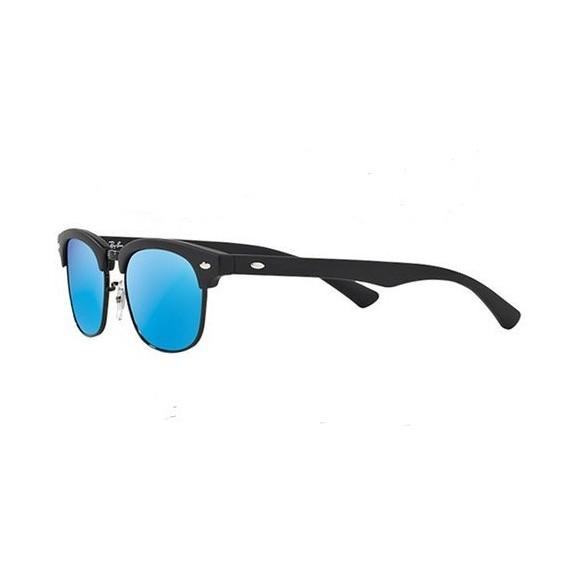 5052364d9516ce Ray-Ban Rj9050S 100S55 45 Junior Negra Espejo Azul Gafas D ...