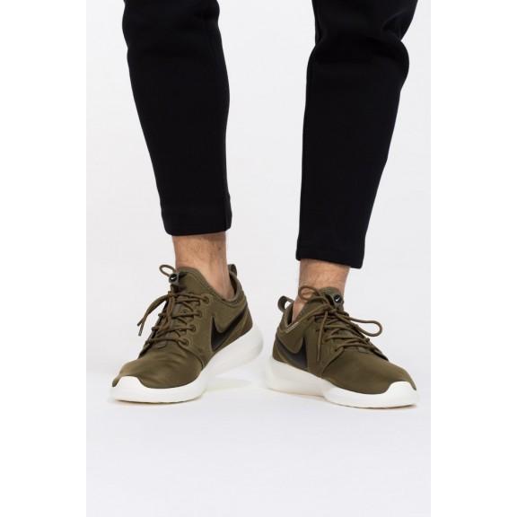 Zapatillas Nike Roshe Two Verde Negro Hombre - Deportes Moya 2c70b1cad97