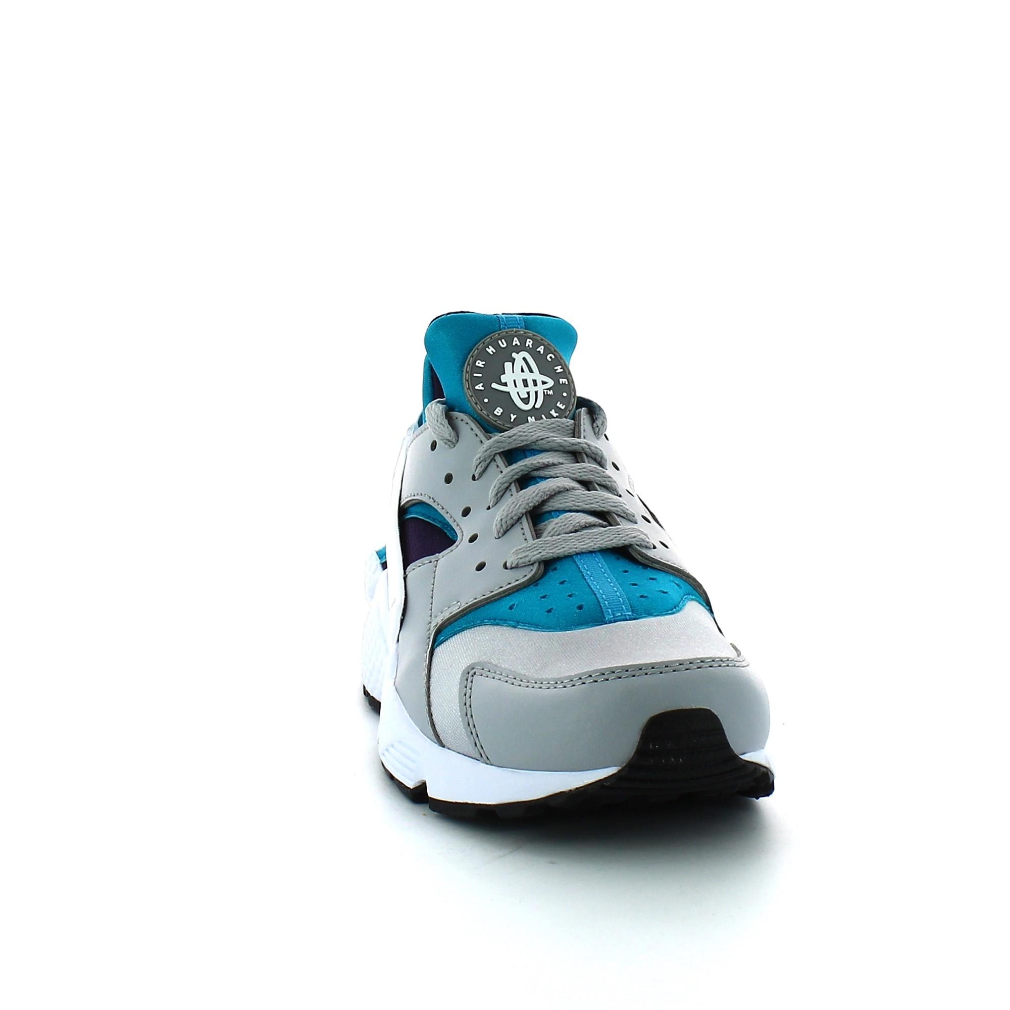 Zapatillas Nike Air Huarache Gris Turquesa Hombre Deportes