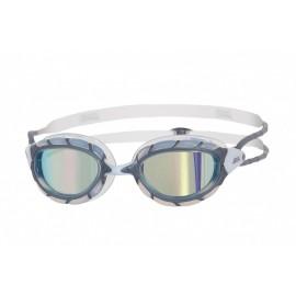 Gafas Natación Predator Mirror gris/blanco