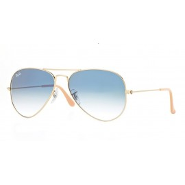 Gafas Ray-Ban Rb3025 001/3f 58 Aviator Large Metal gold