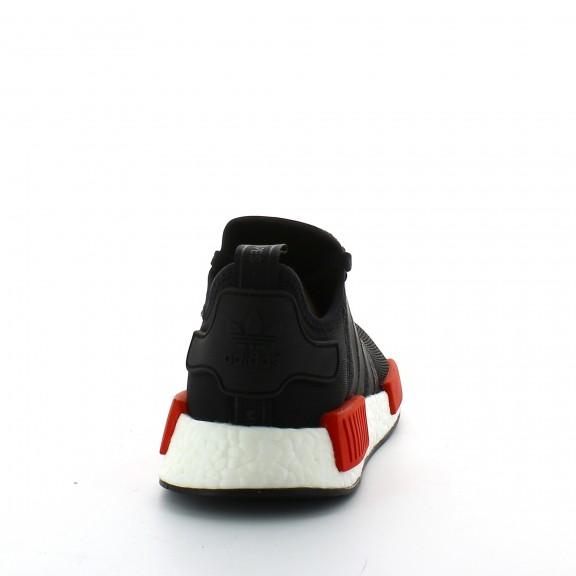 Zapatillas adidas Nmd_R1 negro rojo hombre