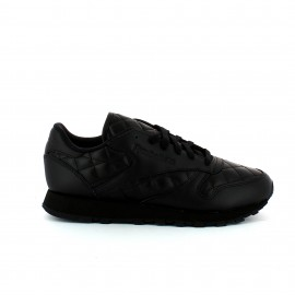 Zapatillas Reebok Classic Leather Quilted negro mujer