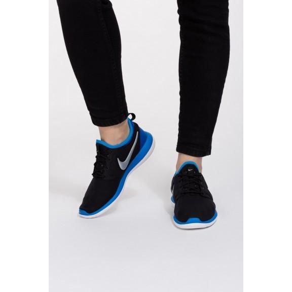 Zapatillas Nike Roshe Two Gs negro azul junior - Deportes Moya 648a4ab5415
