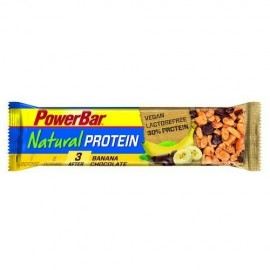 PowerBar barrita Natural Protein banana/chocolate 30% 40 gr