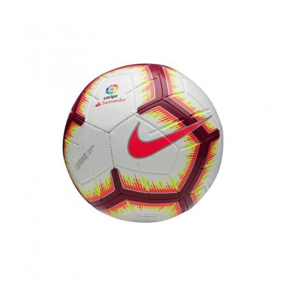 fcfd454bae8f4 Balón Fútbol Nike Strike Liga 2018 19 Blanco Rojo - Deportes Moya