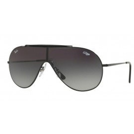 Gafas Ray-Ban Rb3597 002/11 negro lentes gris degradado