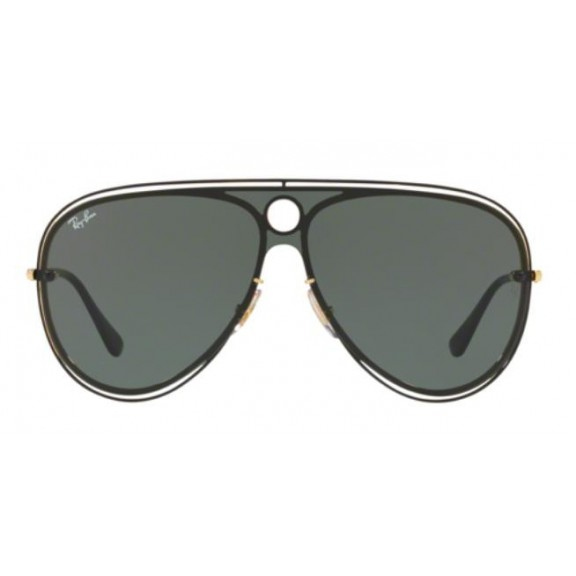 77597d4b9eef5 Gafas Ray-Ban Rb3605N 187 71 Top Shiny Black On Gold - Deportes Moya