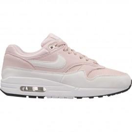 Zapatillas Nike Air Max 1 blanco/rosa mujer