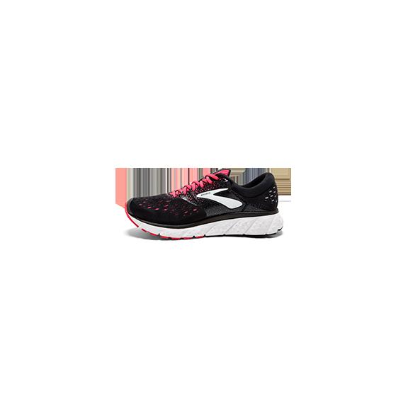 faa6dcb1b83c4 Zapatillas de Running Brooks Glycerin 16 Negro Rosa Mujer - Deportes ...