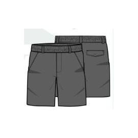Pantalón corto uniforme gris Pureza 0-8