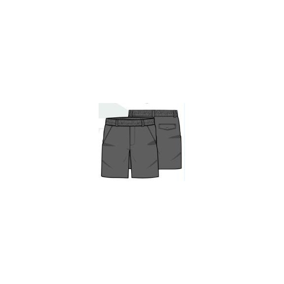 Pantalón corto uniforme gris Pureza 10-14