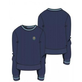 Jersey cuello redondo marino Pureza S-XXL