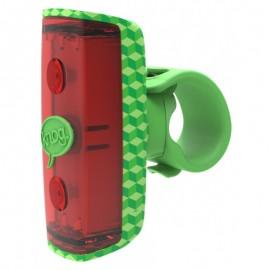 Luz trasera Knog Pop rear green