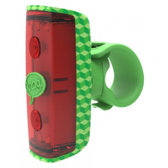 Knog Pop rear green