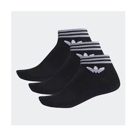 Calcetines Adidas Trefoil ank str pack3 negro