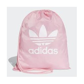 Mochila cuerda Adidas Gymsack trefoil rosa