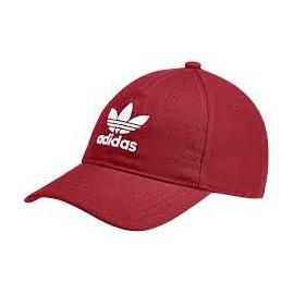 Gorra adidas Trefoil cap roja/ blanca