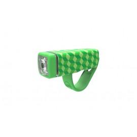 Luz delantera Knog Pop front green