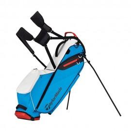 Bolsa golf Taylormade TM17 Flextech Lite blanco/azul/rojo