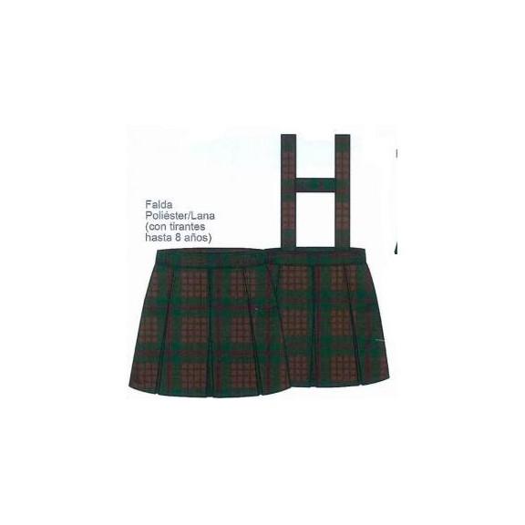 Falda uniforme Salesianas 0-8