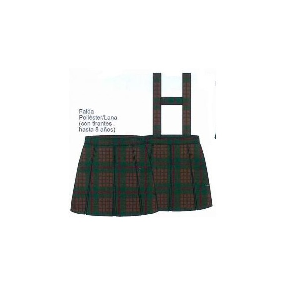 Falda uniforme Salesianas 10-14