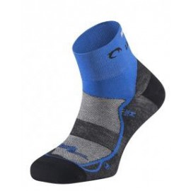 Calcetines running Lurbel Race negro/azul royal