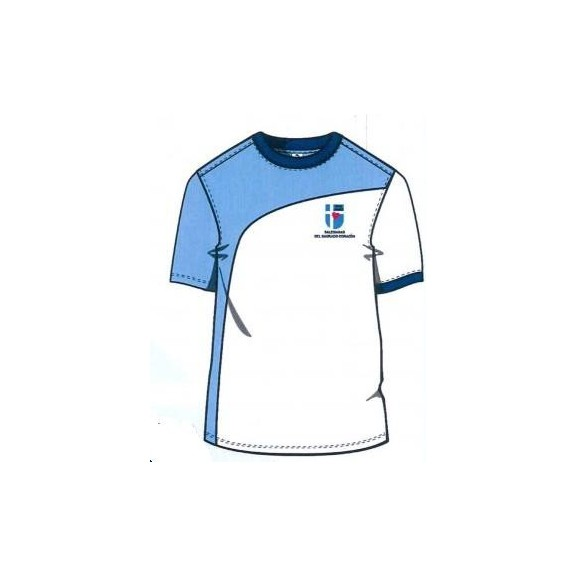Camiseta deportes Salesianas 0-8