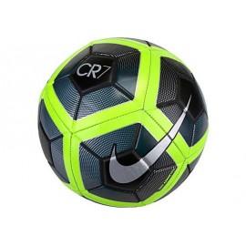 Balón fútbol Nike CR7 negro y verde