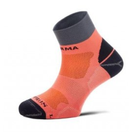 Calcetines running Enforma Running Kypros Pro Run salmon
