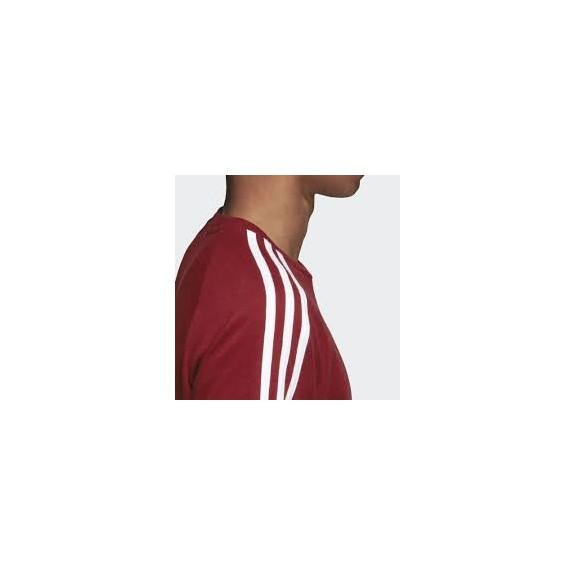 3 Camiseta Tee Hombre Burdeos Adidas Stripes wnX08PkO