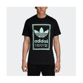 Camiseta Adidas Vintage tee negra hombre