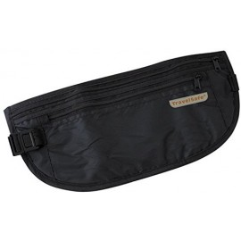 Riñonera TravelSafe plana negro