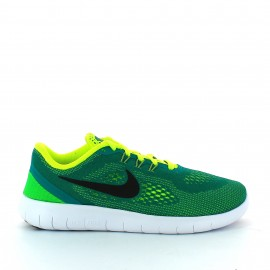 Zapatillas running Nike Free Rn Gs verde junior