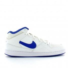 best service 1da6d 62b50 Zapatillas Nike Priority Mid blanco azul hombre