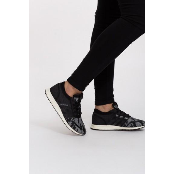 Zapatillas Adidas Los Angeles negro blanca hombre