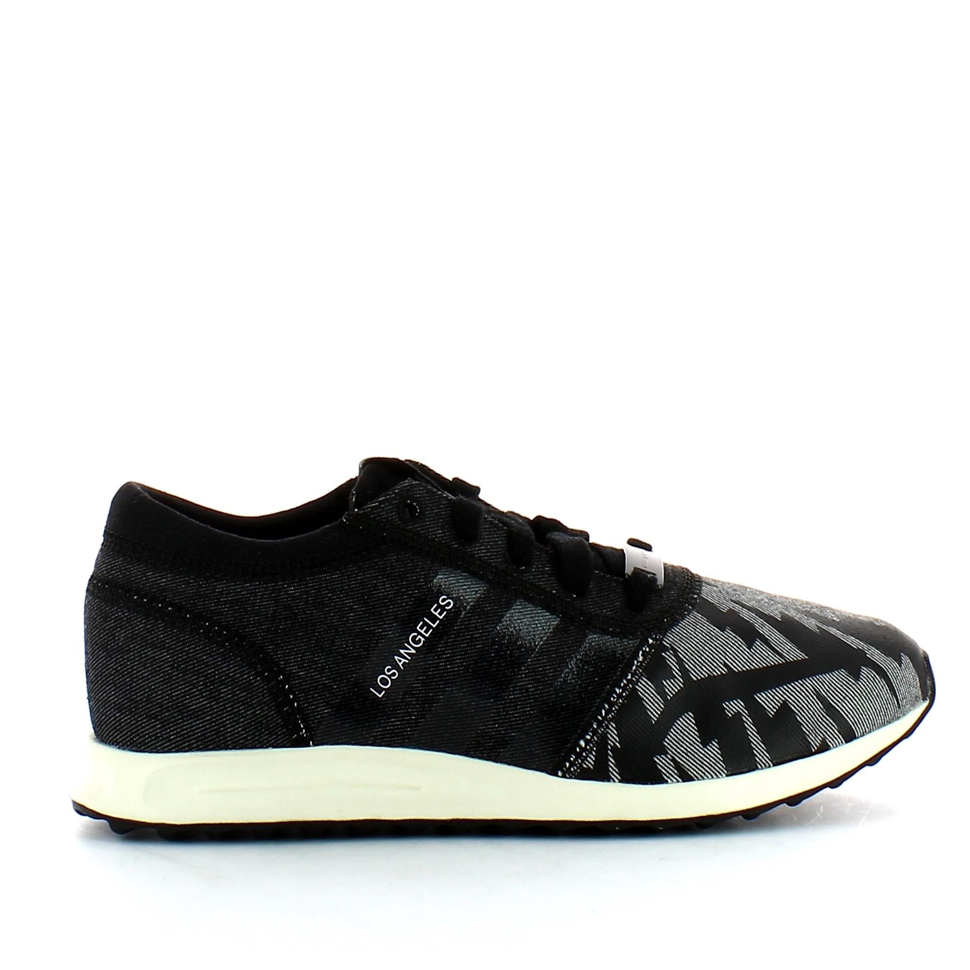 Llave Más grande compuesto  Zapatillas adidas Los Angeles negro blanca hombre - Deportes Moya
