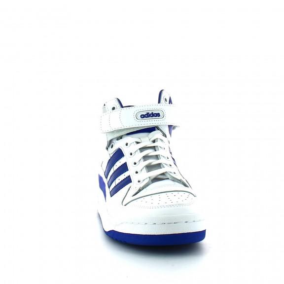 new concept 09d5d 50dc9 Zapatillas adidas Forum Mid Refined blanco azul hombre