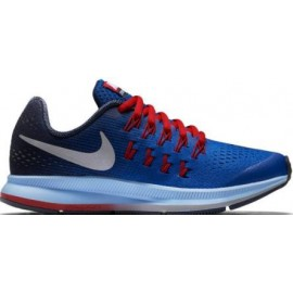Zapatilla Nike Zoom Pegasus 33 Gs azul royal junior