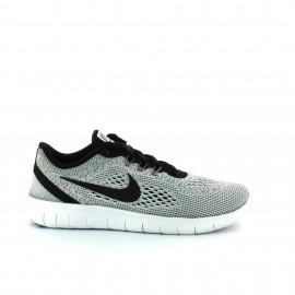 Zapatillas Nike Free Rn Gs blanco negro junior