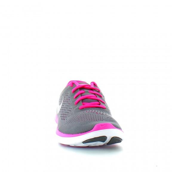 Zapatillas Nike Flex 2016 Rn Gs gris rosa junior