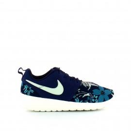 Zapatillas Nike Roshe One Print Prem azul flores mujer