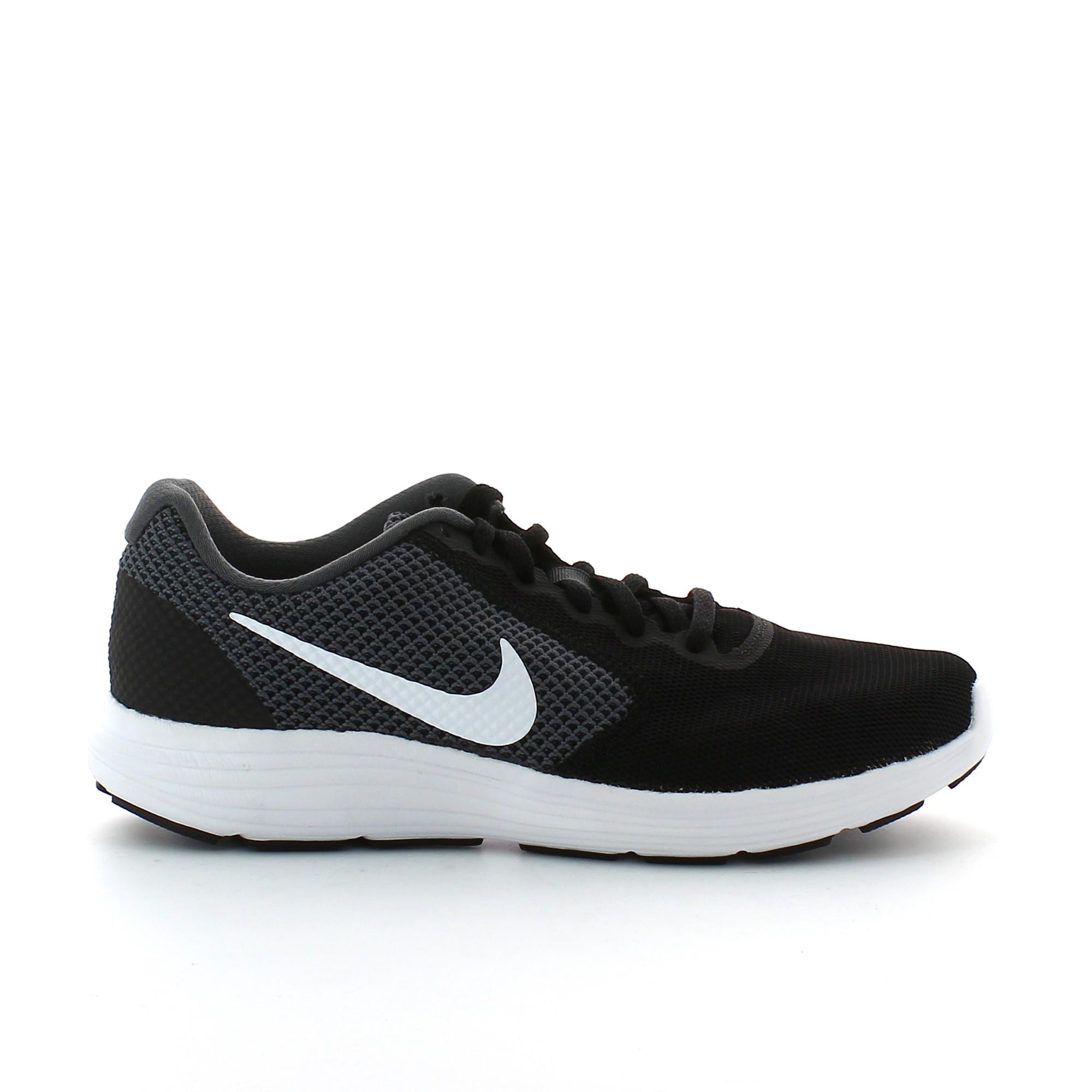 62484616ea6 Zapatillas de Running Nike Revolution 3 Negro Gris Hombre - Deportes Moya