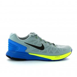 Zapatilla Nike Lunarglide 6 gris azul hombre
