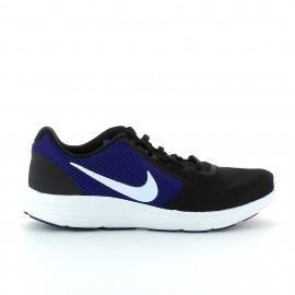 Zapatillas running Nike Revolution 3 negro hombre