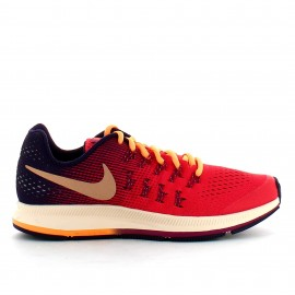 Zapatillas Nike Zoom Pegasus 33 Gs  rojo junior